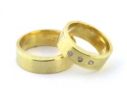 Snubní prsteny FS-001