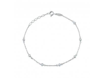 Stříbrný  náramek LLV06-SB0015