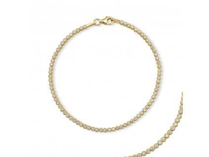Zlatý náramek LLV01-GB008