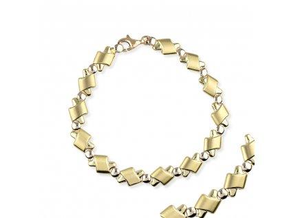 Zlatý náramek LLV22-GB003