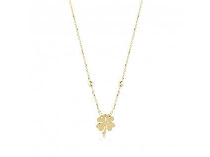 Zlatý náhrdelník LLV22-GN009