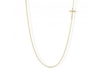Zlatý náhrdelník LLV22-GN007