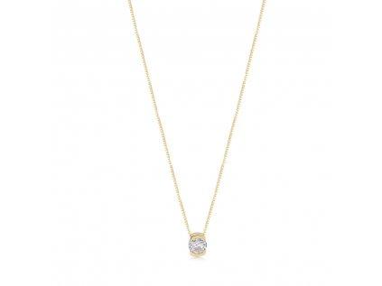 Zlatý náhrdelník LLV22-GN102
