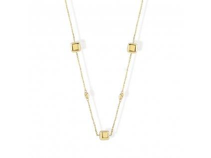 Zlatý náhrdelník LLV22-GN086