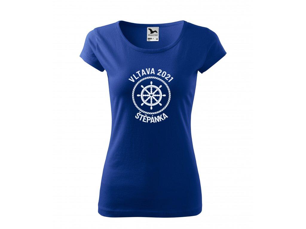 Dámské tričko pro vodáky kormidlo