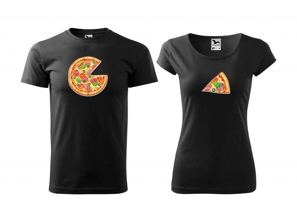 Párová trička pizza