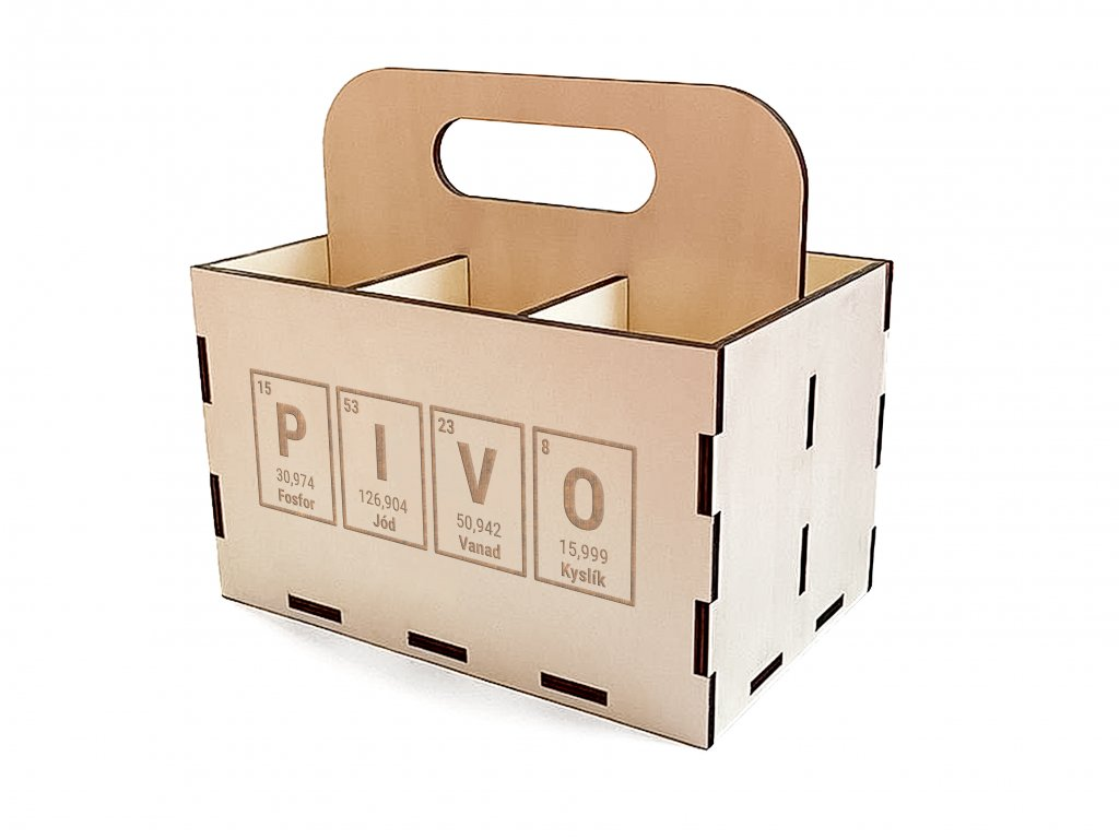 PIVO krabice periodicka pivo