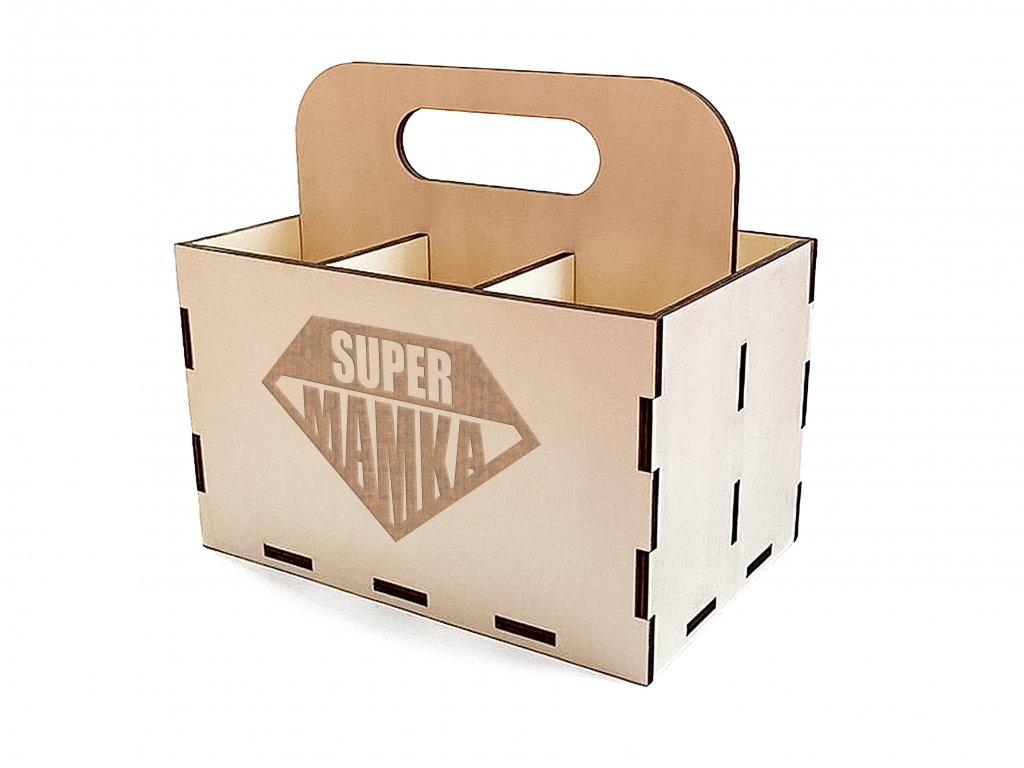 PIVO krabice supermamka