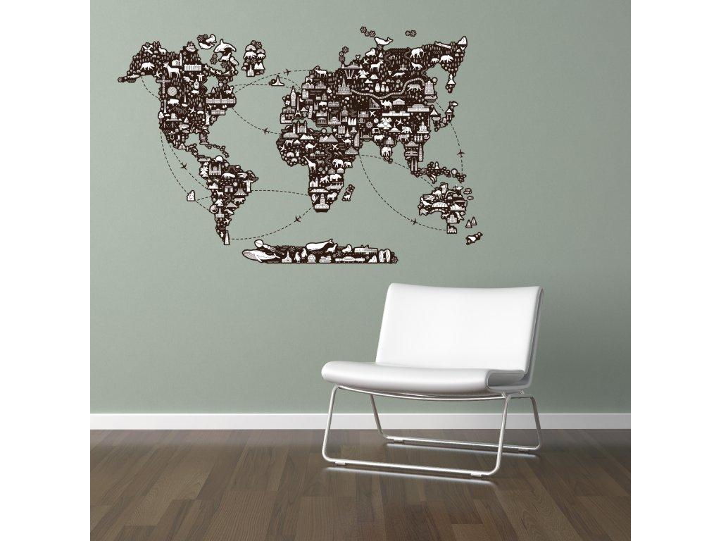 NALEP zed mapa svet budovy zvirata01