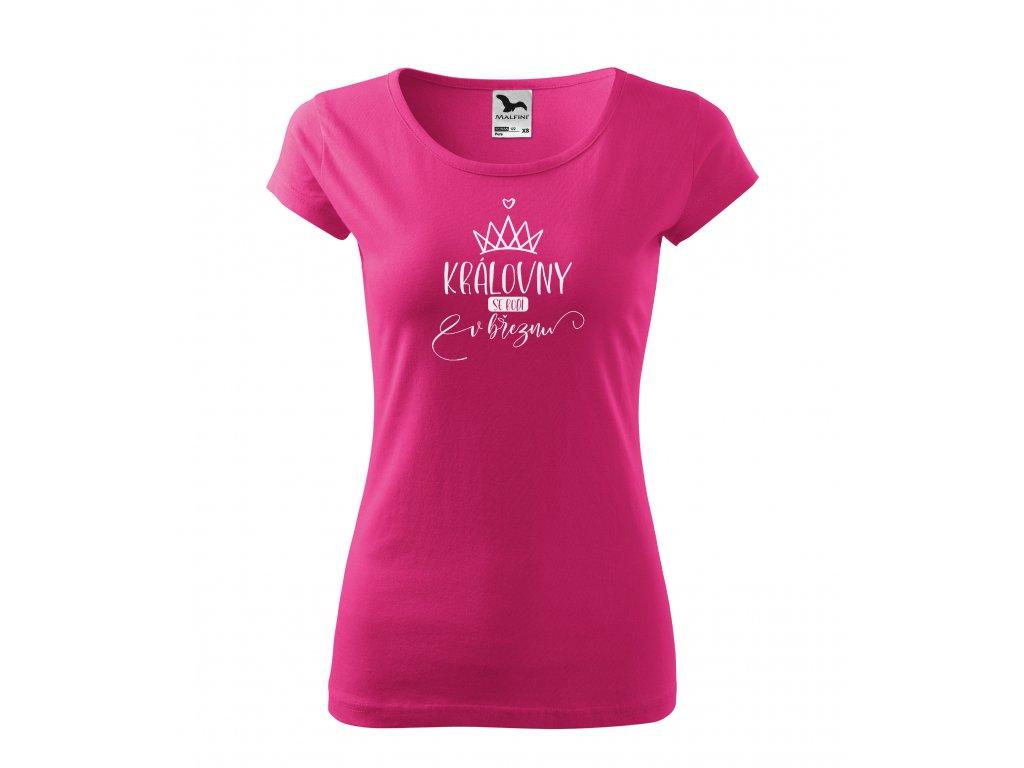 Dámské tričko královny se rodí (5)