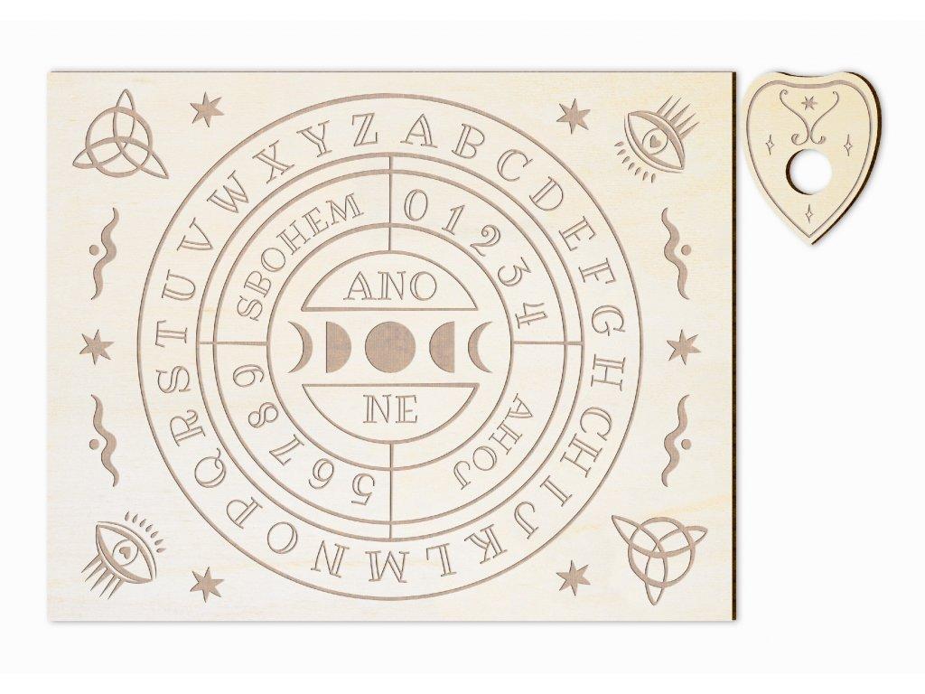 HALLOW abeceda kruh