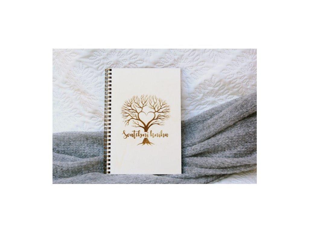 svatebni kniha prani a rad strom a5