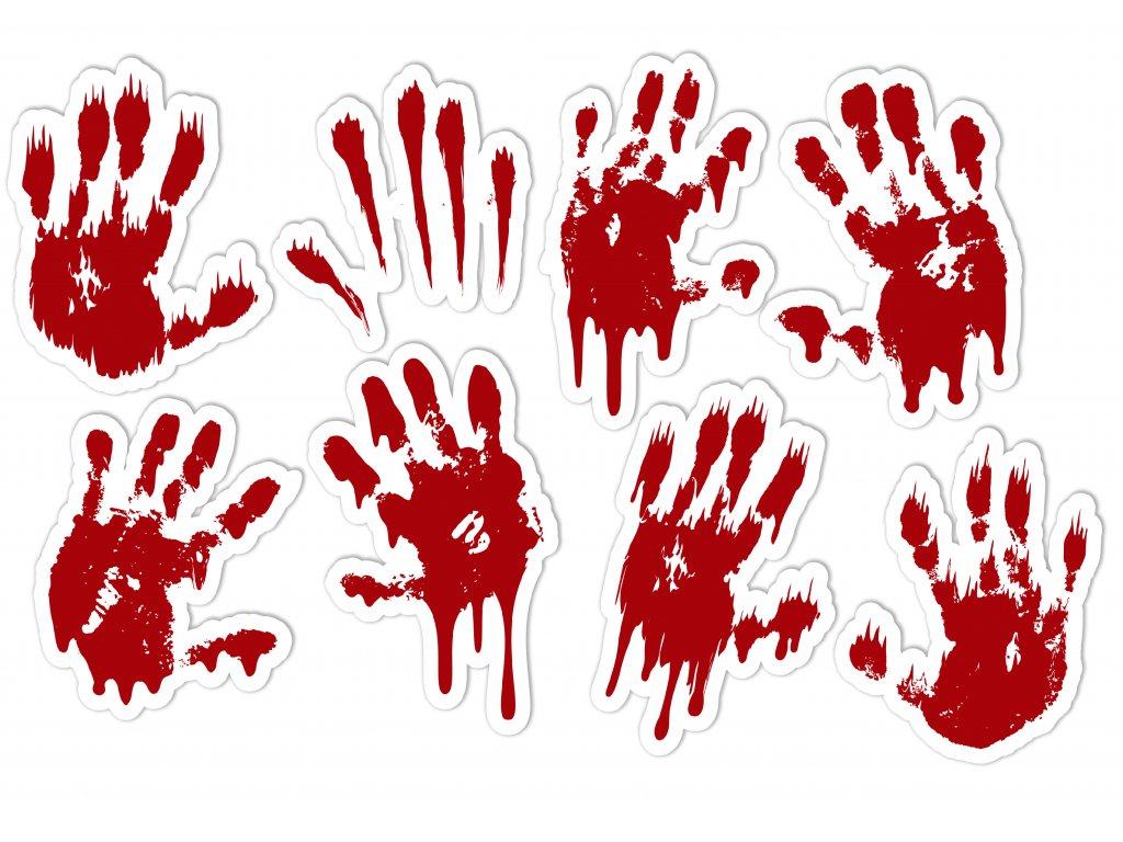 NALEP halloween ruce krev