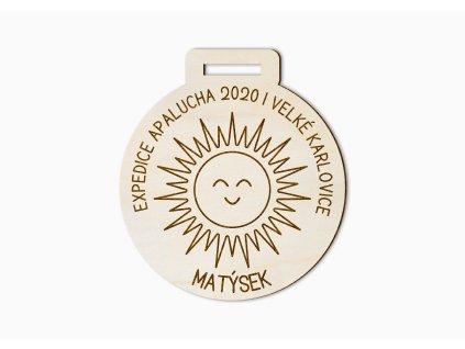 Medaile sluníčko