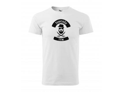 Pánské tričko ženichův tým