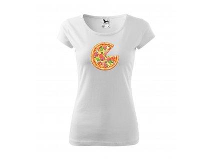 Dámské rodinné tričko pizza (1)