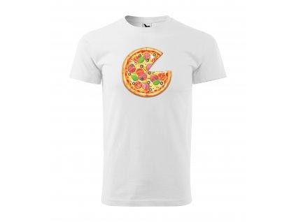 Pánské rodinné tričko pizza (1)