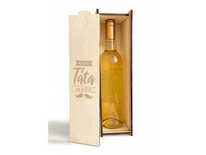 Krabice na víno pro nejlepšího tatínka