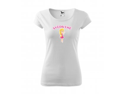 Dámské rozlučkové tričko svědkyně (1)