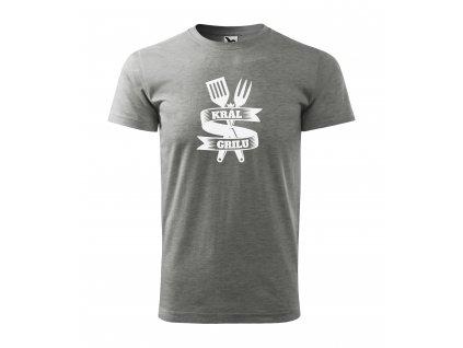 Pánské tričko král grilu (5)