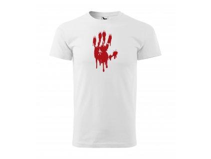 TRI halloween krvava ruka P01
