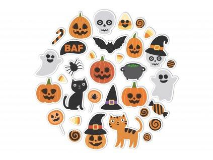 NALEP halloween sada oranzova