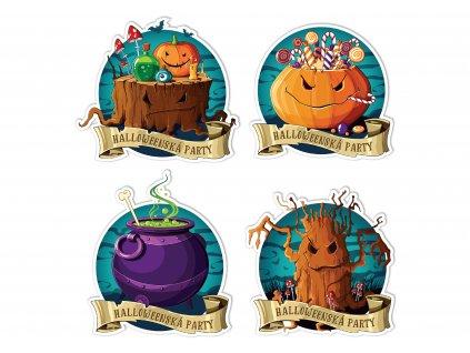 NALEP halloween sada 4 party