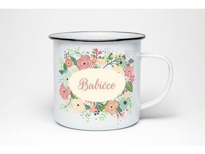 PLECH kvetiny babicce