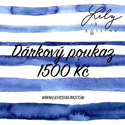 Daarkovyy poukaz 1500 Kc