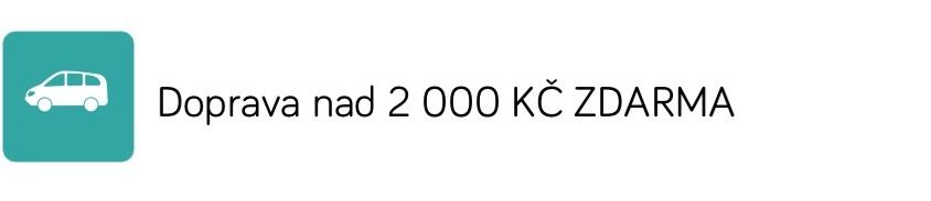 Doprava nad 2 000 KČ Zdarma