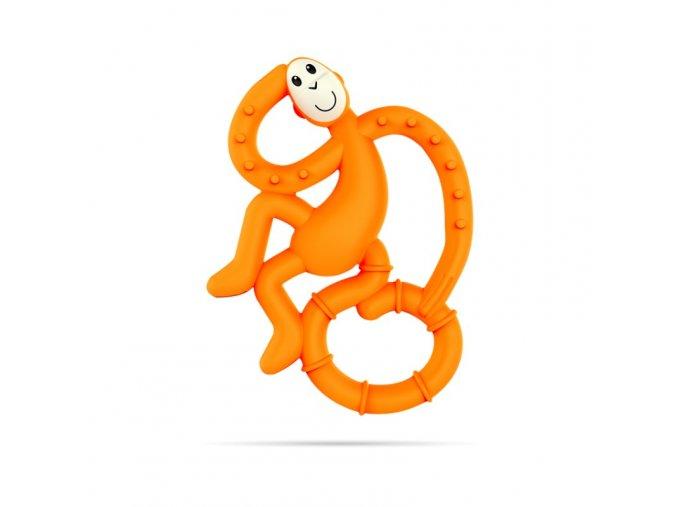 mini monkey hryzatko s antimikrobialnym povrchom biocote oranzove