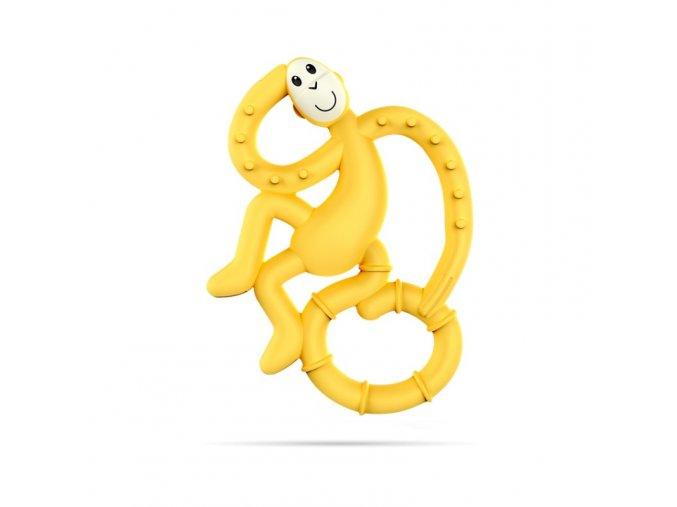 mini monkey hryzatko s antimikrobialnym povrchom biocote zlte