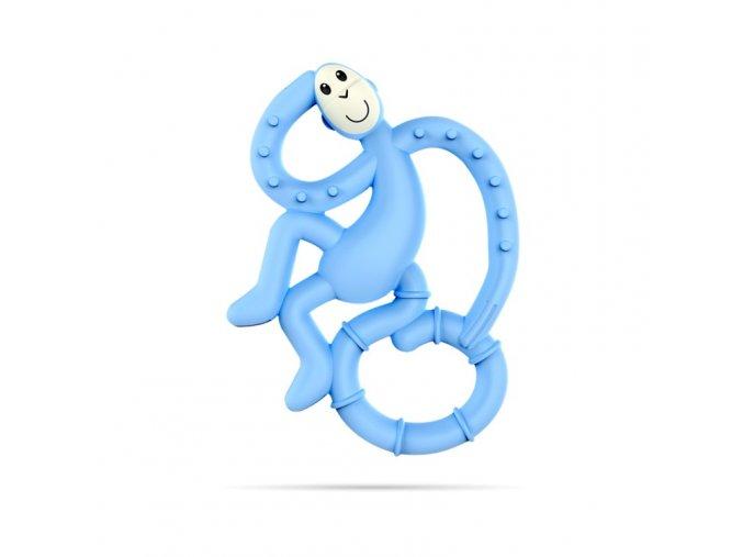 mini monkey hryzatko s antimikrobialnym povrchom biocote svetlo modre