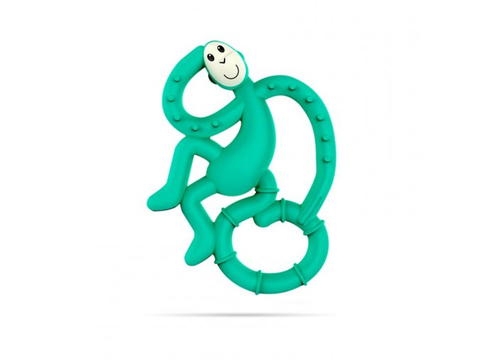 mini monkey hryzatko s antimikrobialnym povrchom biocote zelene