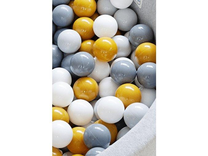 Mini Be Additional Balls Mustard 2000x