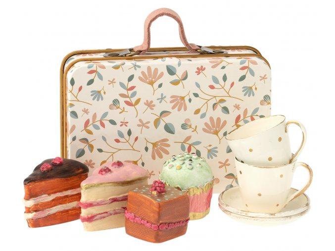 Maileg kufr s sladkosti pro dva