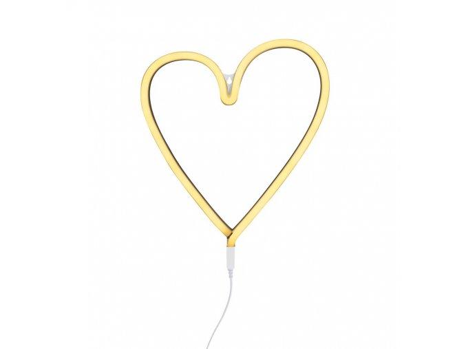 neon02 1 LR neon style light heart yellow