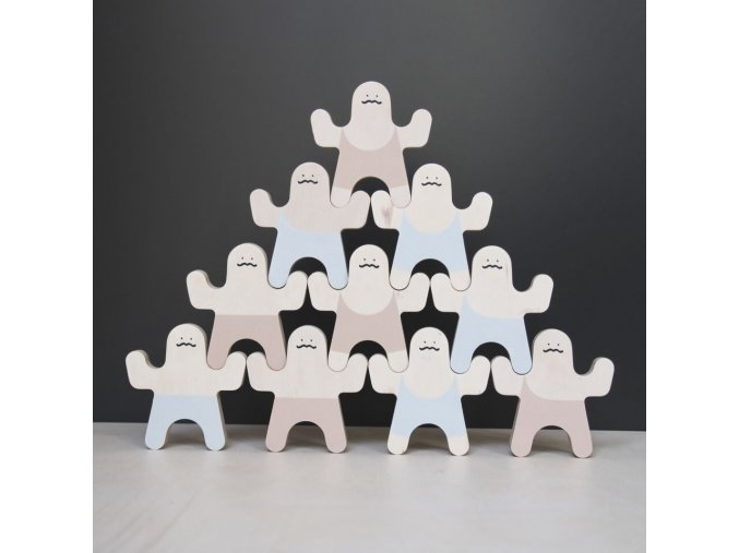 klocki mr. strong block, wood luck 4 kids (6) preview
