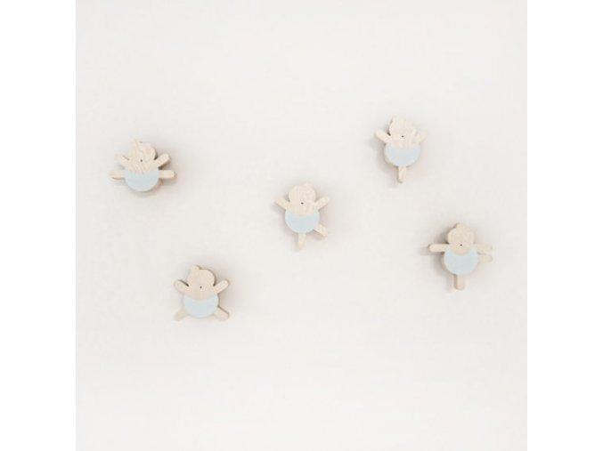wieszaczki baletnice niebieskie 567x567