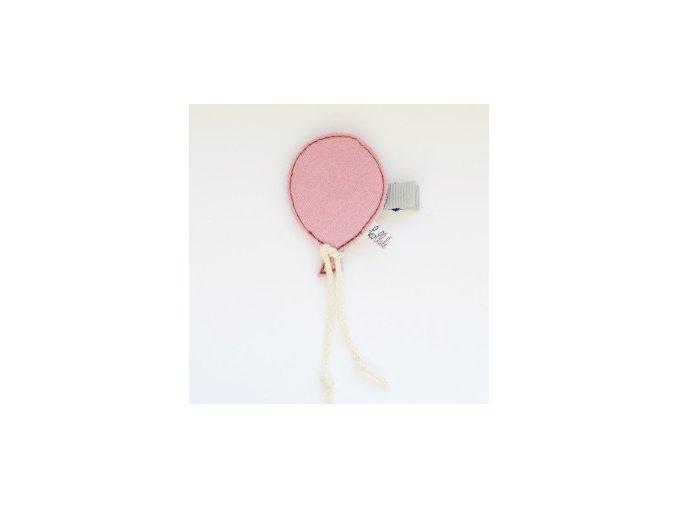Kollale Sponka Mozaik Balloon Pink