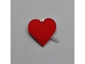 Kollale Sponka Baby With Love Red