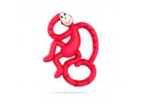 mini monkey hryzatko s antimikrobialnym povrchom biocote rubinova