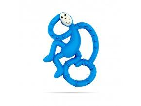 mini monkey hryzatko s antimikrobialnym povrchom biocote modre