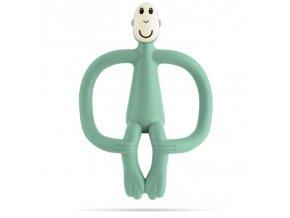 hryzatko a zubna kefka matchstick monkey mint green