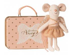 MAILEG andělská myška v kufříku