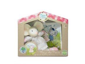 Meiya & Alvin Dárkový set knížka + hračka myška Meiya