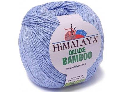 Příze Deluxe Bamboo 124-14  modrá