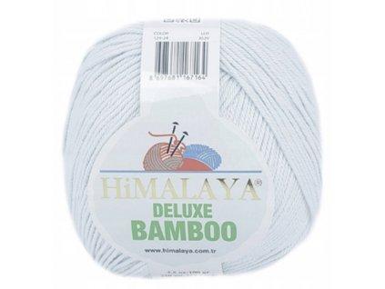 Příze Deluxe Bamboo 124-24 světle šedá  Pletací a háčkovací příze