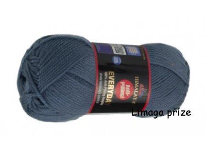 příze Everyday 70065 modro šedá  pletací a háčkovací příze, 100% akryl