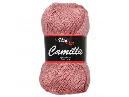 Příze Camilla 8028 starorůžová  100% bavlna
